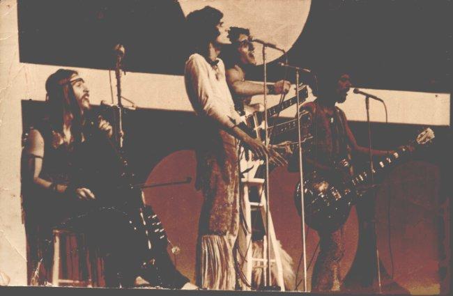 1971 - O Terço no palco