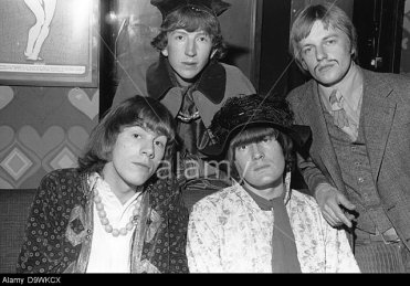D9WKCX THE SOFT MACHINE UK pop group at the London Speakeasy club in May 1967. See Description below for names